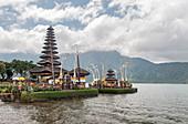 Pura Ulun Danu Bratan temple on Lake Bratan, Bali, Indonesia, Southeast Asia, Asia