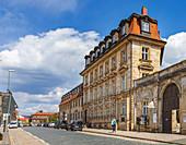 Ludwigstrasse in Bayreuth, Bavaria, Germany
