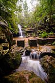 Australia,New South Whales,Blue Mountains National Park,Waterfall in Blue Mountains National Park