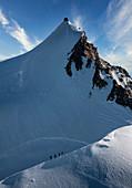 Switzerland,Monte Rosa,Majestic peak in Monte Rosa Massif