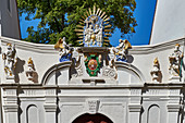 Gate of the Cathedral Treasury of St. Petri, Bautzen, Germany