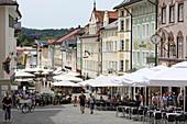 Marktstasse, Bad Toelz, Isarwinkel, Upper Bavaria, Bavaria, Germany