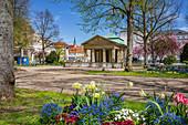 Maxbrunnen am Kurgarten in Bad Kissingen, Bayern,  Deutschland