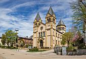 Erlöserkirche in Bad Kissingen, Bayern,  Deutschland