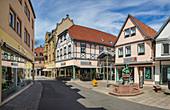 Brunnengasse in Bad Kissingen, Bayern,  Deutschland
