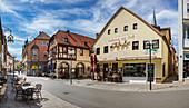 Obere Marktstrasse in Bad Kissingen, Bayern,  Deutschland