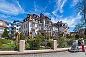 Hotel Residenz am Rosengarten in Bad Kissingen, Bayern, Deutschland