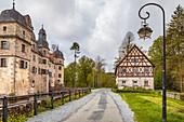 Wasserschloss Mitwitz, Bayern,  Deutschland