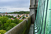 Nidaros Dom, Aussicht vom Turm, Trondheim, Norwegen