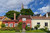 Ehemaliges Arbeiterviertel Möllenberg, Trondheim, Norwegen