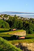 Kanonen auf der Festung Kristiansten,Trondheim, Norwegen