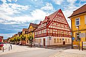 Markt in Bad Rodach, Bayern,  Deutschland