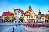 Town hall Bad Rodach, Bavaria, Germany