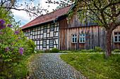 Schulgasse in Bad Rodach, Bayern,  Deutschland