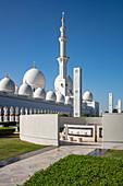 Sheikh Zayed Grand Mosque (Sheikh Zayed Bin Sultan Al Nahyan Grand Mosque), Abu Dhabi, Abu Dhabi, United Arab Emirates, Middle East
