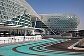 Formel 1 Rennstrecke Yas Marina Circuit, Abu Dhabi, Abu Dhabi, Vereinigte Arabische Emirate, Naher Osten