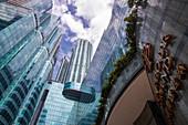 Exterior view of the Harbor Grand Kowloon Hotel, Hong Kong, Hong Kong, China, Asia