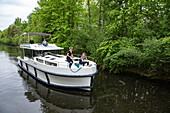 Le Boat Horizon Hausboot auf dem Fluss Tay River, nahe Perth, Ontario, Kanada, Nordamerika