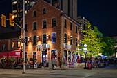 The Grand Restaurant and Bar at night, Ottawa, Ontario, Canada, North America