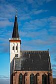 Kerk Den Hoorn Kirche, Den Hoorn, Texel, Westfriesische Inseln, Friesland, Niederlande, Europa