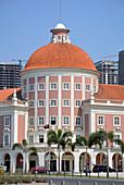 Angola; Luanda Province; Capital Luanda; renovated historic building of the National Bank of Angola;
