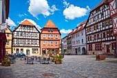 Lutherplatz in Schmalkalden, Thüringen, Deutschland