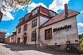 Pfalzkeller am Schloss Wilhelmsburg in Schmalkalden, Thüringen, Deutschland