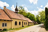 St. Johannis- Armenstift in Vogelsang-Grünholz, Schleiregion, Schwansen, Damp, Schleswig-Holstein, Deutschland