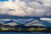 Blick von der Insel Leka, Norwegen
