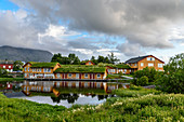 Vega Havhotell on the island of Vega, Norway