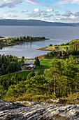 Landscape Inderoy, Inderøy, Norway
