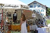 Antiquitätenmarkt, Gut Keferloh, Haar, München, Oberbayern, Bayern, Deutschland
