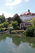 Seeshaupt, Starnberger See, 5-Seen-Land, Upper Bavaria, Bavaria, Germany