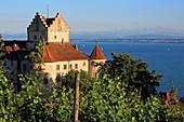 Meersburg and Lake Constance, Baden-Württemberg, Germany