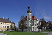 Kapellplatz, Altötting, Upper Bavaria, Bavaria, Germany