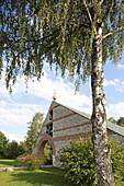 Church of Olaf Maria Gulbranson, Manching, Upper Bavaria, Bavaria, Germany