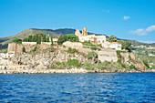 Lipari Town, Lipari Island, Aeolian Islands, Sicily, Italy
