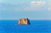 Strombolicchio islet, Stromboli, Aeolian Islands, Sicily, Italy