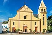 San Vincenzo Ferreri church, Stromboli, Aeolian Islands, Sicily, Italy