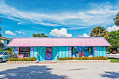 Colourful building, Fort Myers, Florida, USA