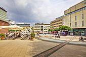 Kennedyplatz in Essen, North Rhine-Westphalia, Germany