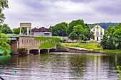 Ruhr Bridge Kettwig in Essen-Kettwig, North Rhine-Westphalia, Germany