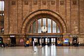 Leipzig Central Station, Leipzig, Saxony, Germany