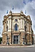 Deutsche Bank branch, Martin-Luther-Ring, Leipzig, Saxony, Germany