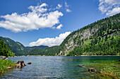 Am Vorderen Gosausee, Gosau, Gosauseen, Salzkammergut, Austria, Europe