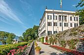 Garden of the Villa Carlotta in Tremezzo on Lake Como, Lombardy, Italy