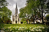 """St Martingskirche in Bad Ems, UNESCO World Heritage Site """"Important Spa Towns of Europe"""", Rhineland-Palatinate, Germany"""