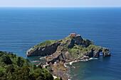 Hermitage of San Juan de Gaztelugatxe, near Bermeo, Urdaibai Biosphere Reserve, Basque Country, Spain