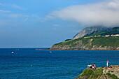 Estuary of the Ria de Urdaibai, Mundaka, Urdaibai Biosphere Reserve, Basque Country, Spain