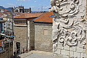 View over the roofs of Vittoria-Gasteiz, Basque Country, Spain